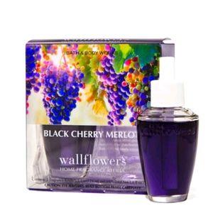 💜 BLACK CHERRY MERLOT WALLFLOWERS REFILLS 2-PACK